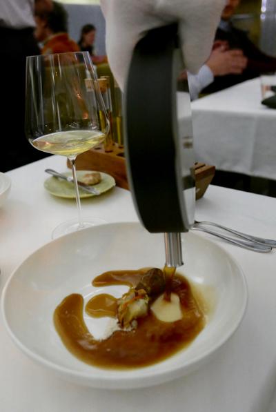 Michelin stared vegetarian cuisine be Paul Ilic at Tian