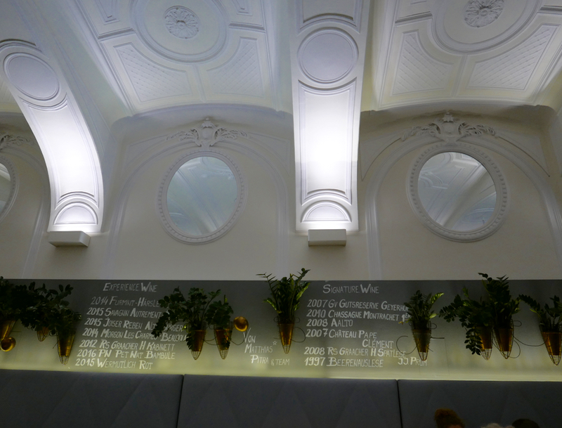 Michelin star vegetarian restaurant Tian Vienna
