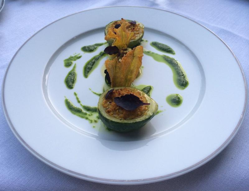 Michelin stared restaurant at Hostellerie de l'Abbaye de la Celle