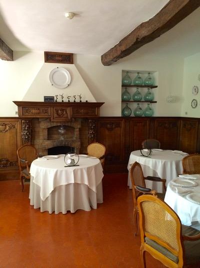 Provencal dining at Hostellerie de l'Abbaye de la Celle