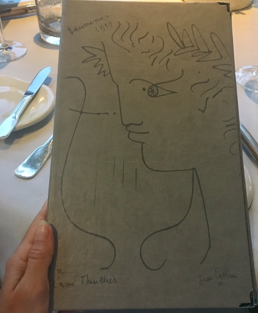 Jean Cocteau drawing