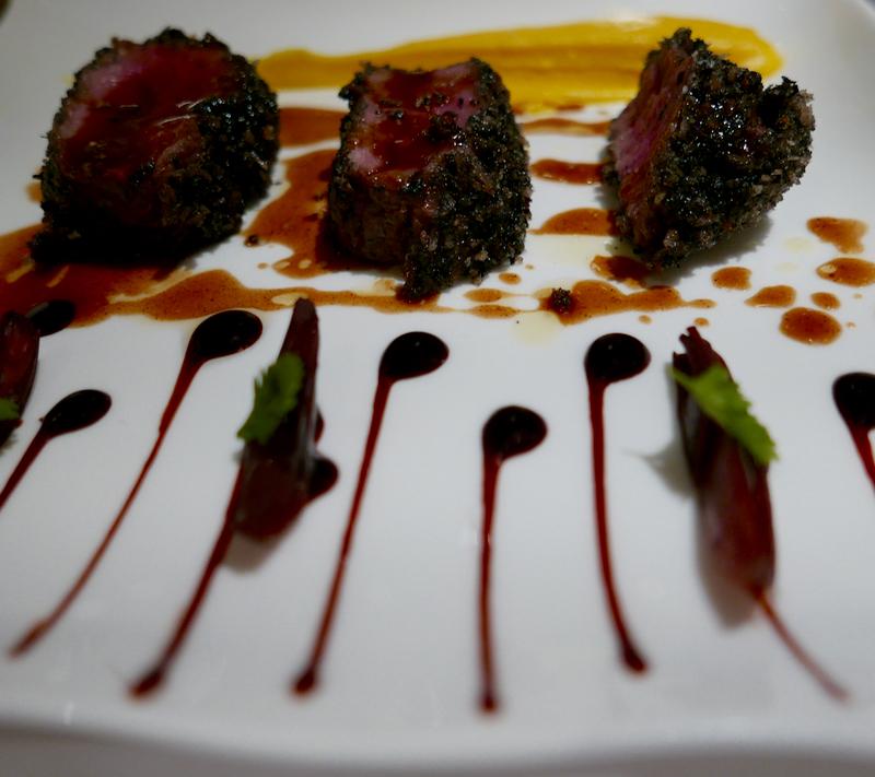 Three Michelin star cuisine by Michel Guérard