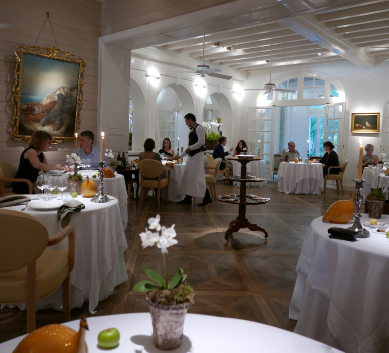 Three Michelin star French restaurant by chef Michel Guérard