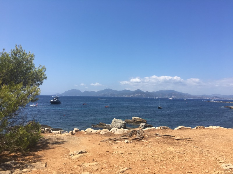 hiking Cote d'Azur