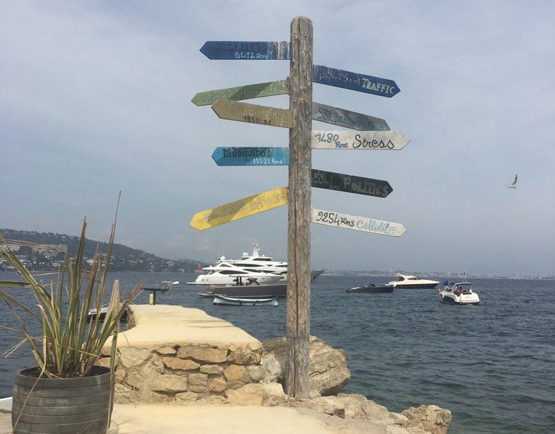 island hiking Cote d'Azur