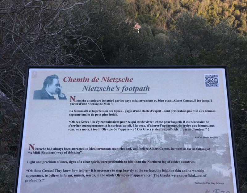 Nietzsche trail