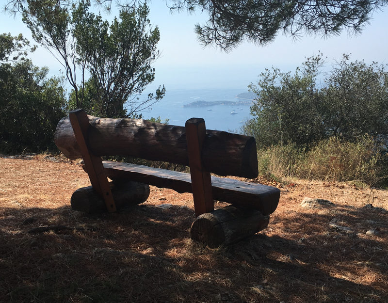 hiking Cote d'Azur