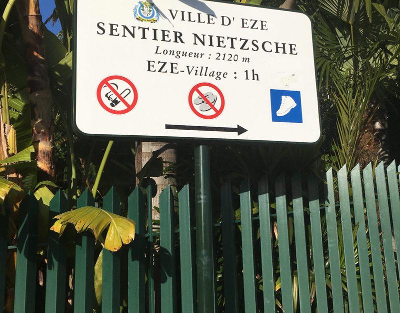 Sentier Nietzsche