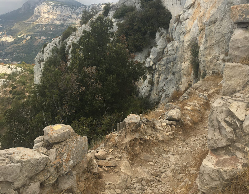 hiking in Cote d'Azur