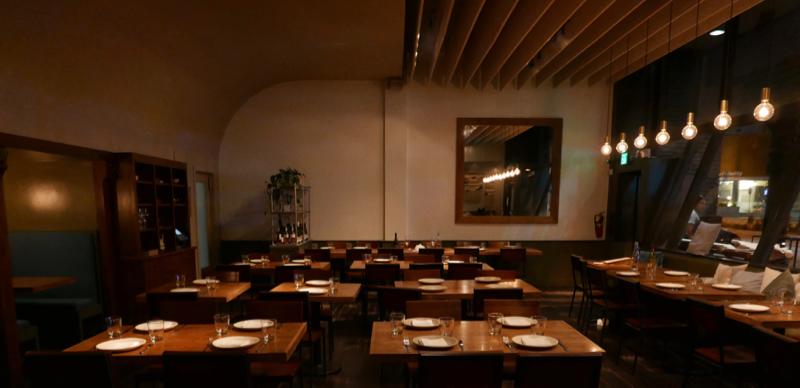 restaurant by chef Jeremy Fox