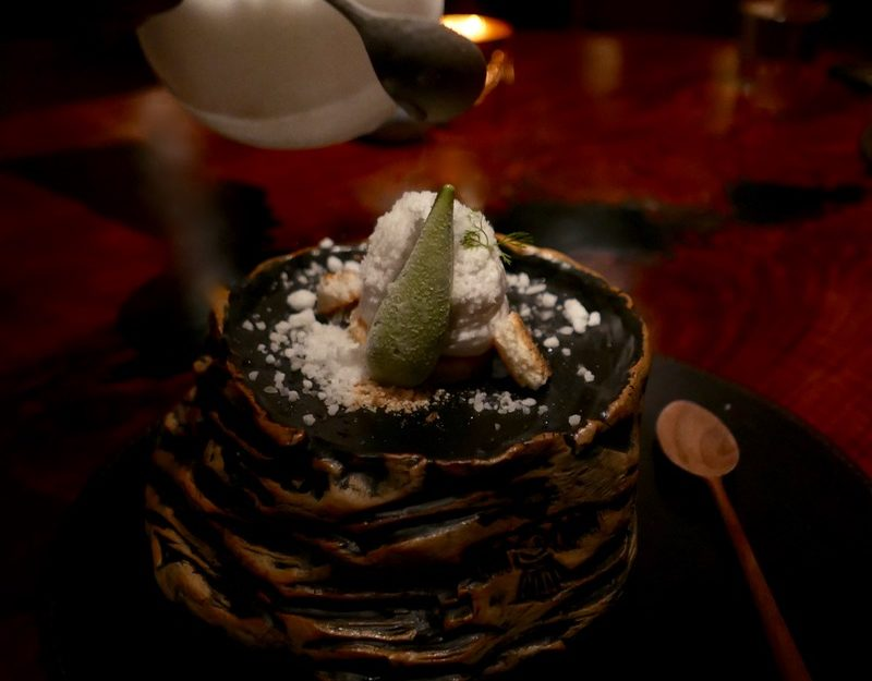 Recreation of Agave, Coconut, Iced Pulque
