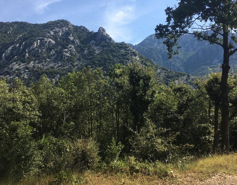 hiking Menton