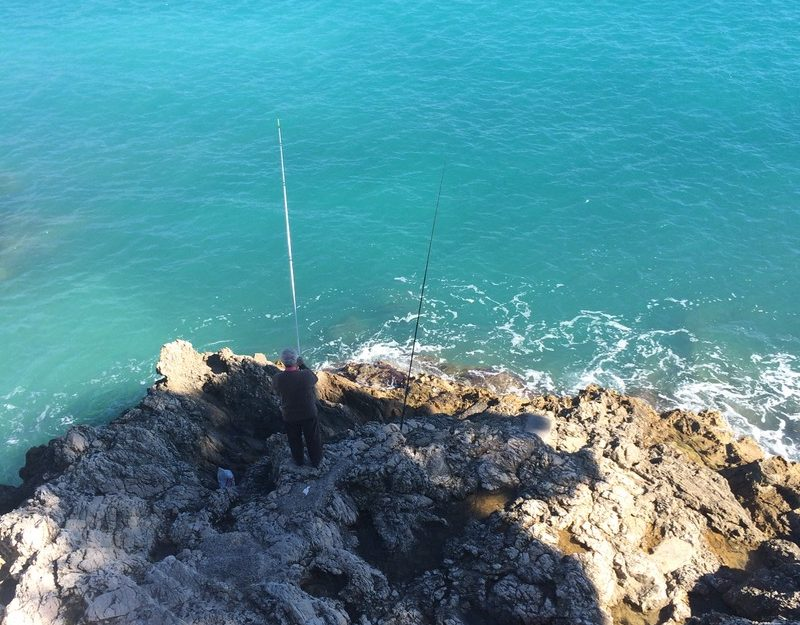 fishing and hiking Côte d'Azur