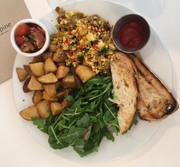 plant-based brunch in LA