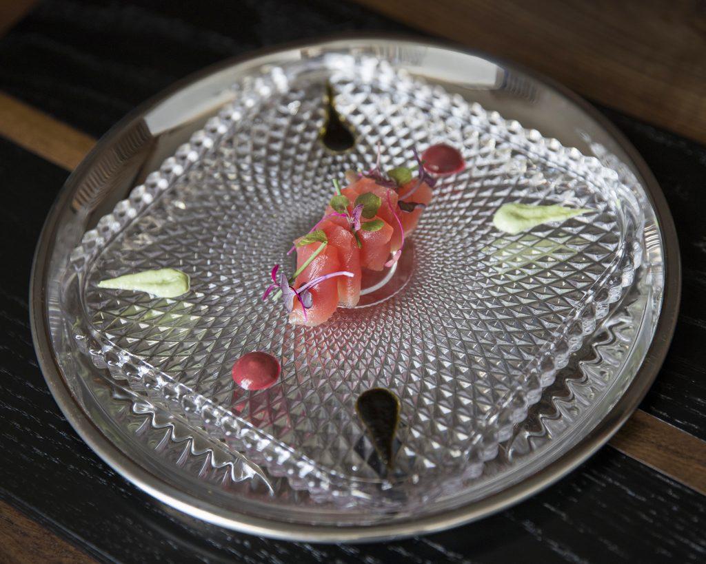 Traditional sashimi at n/naka