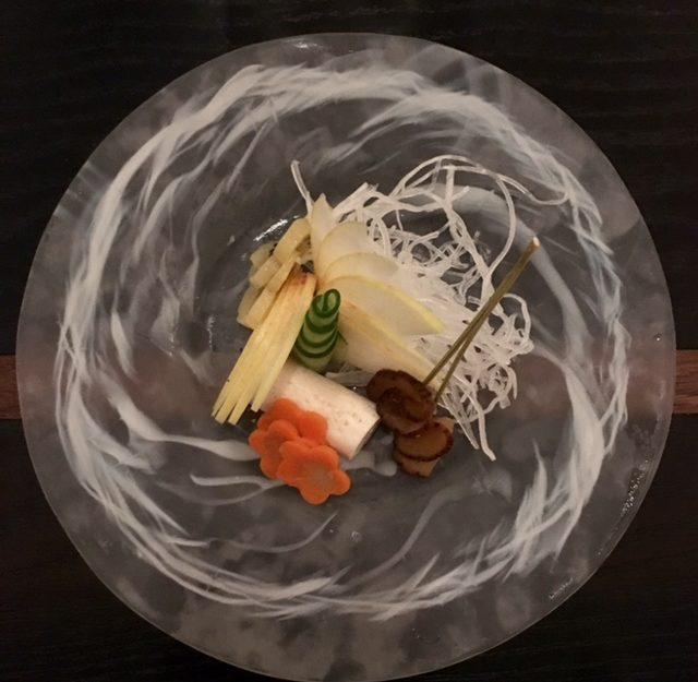 Seasonal vegetables at N/naka