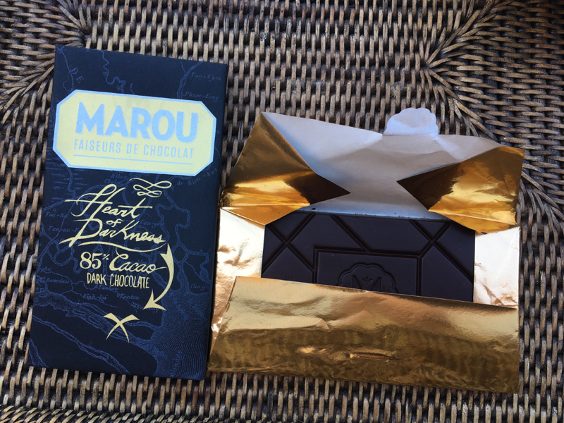 Marou dark chocolate from Vietnam