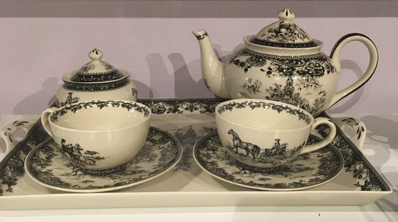 porcelain western tea service
