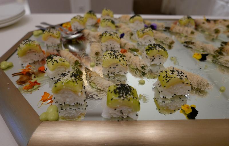 Ayurvedic vegan sushi