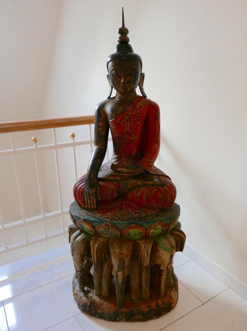 Buddha statue at Parkschlosschen