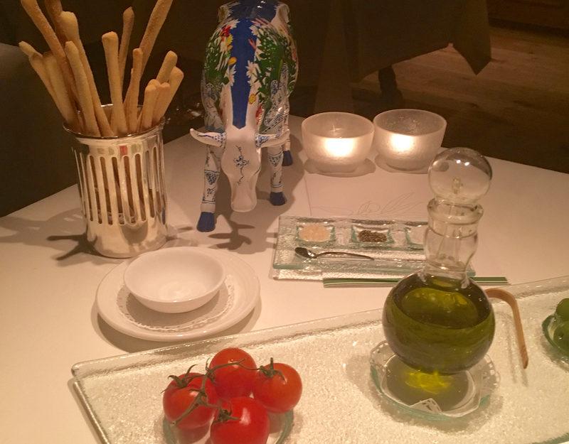 Michelin star restaurant St Moritz
