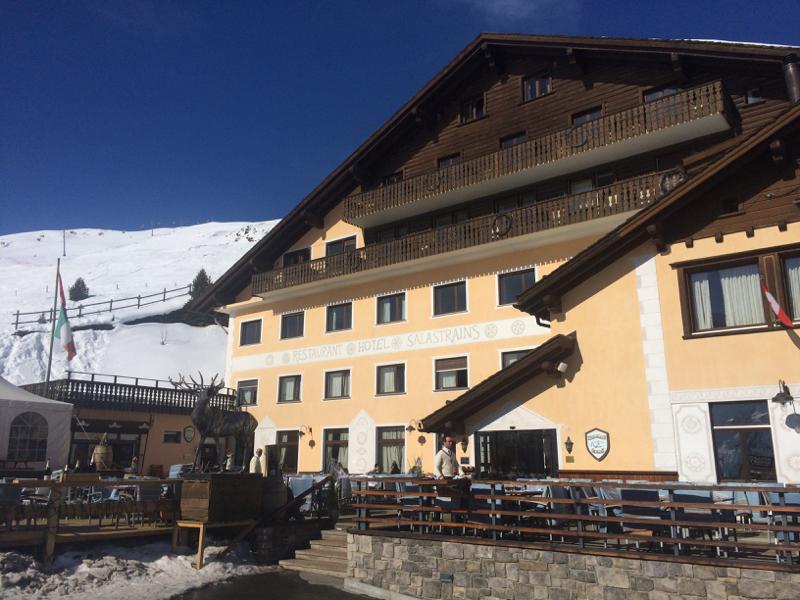 St Moritz architecture