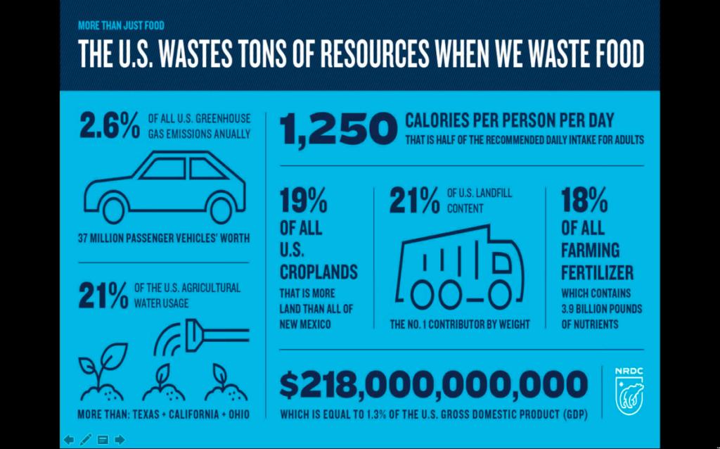 inforgraphic food waste