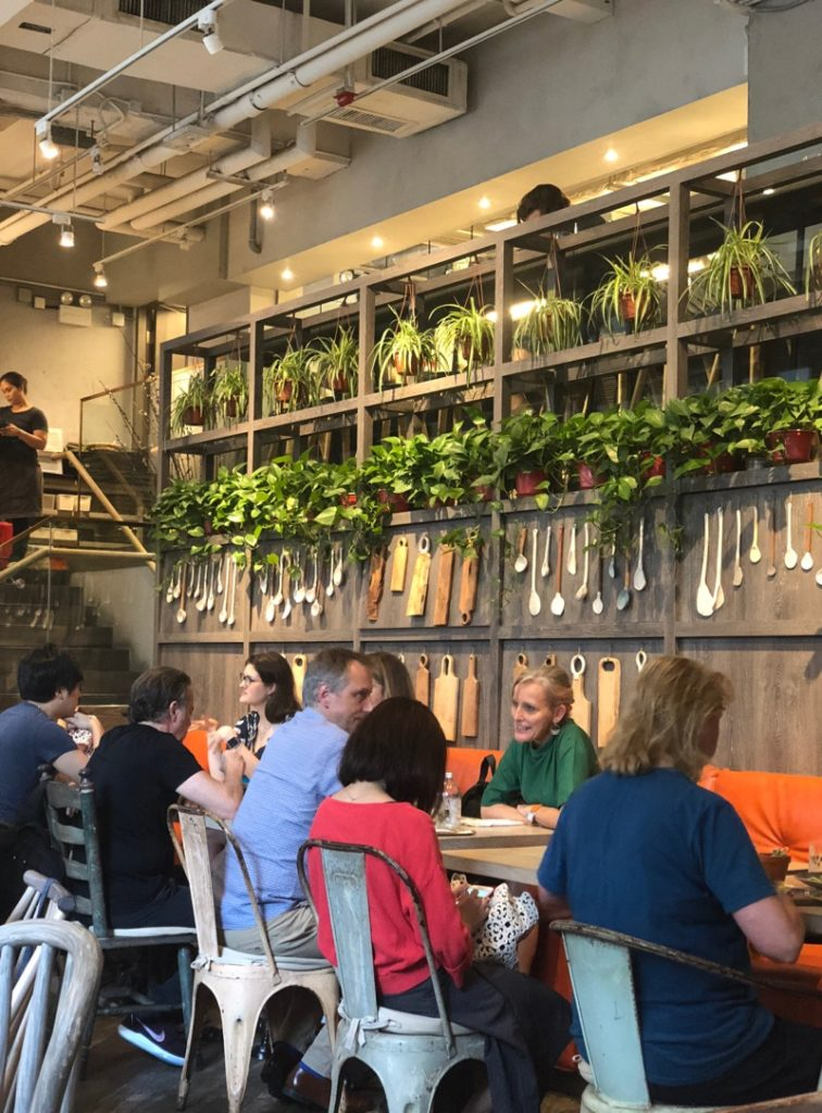 vegan Hong Kong cafe Grassroots Pantry