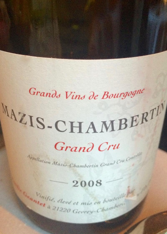 Grand cru Burgundy