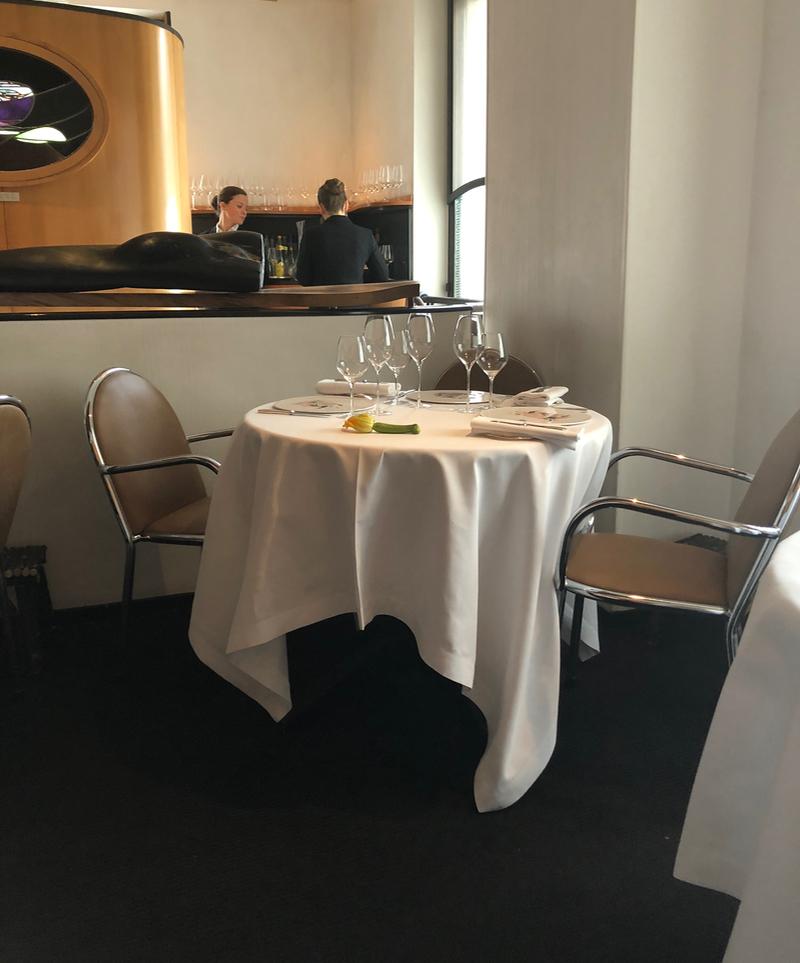 Arpège three Michelin star French restaurant Paris