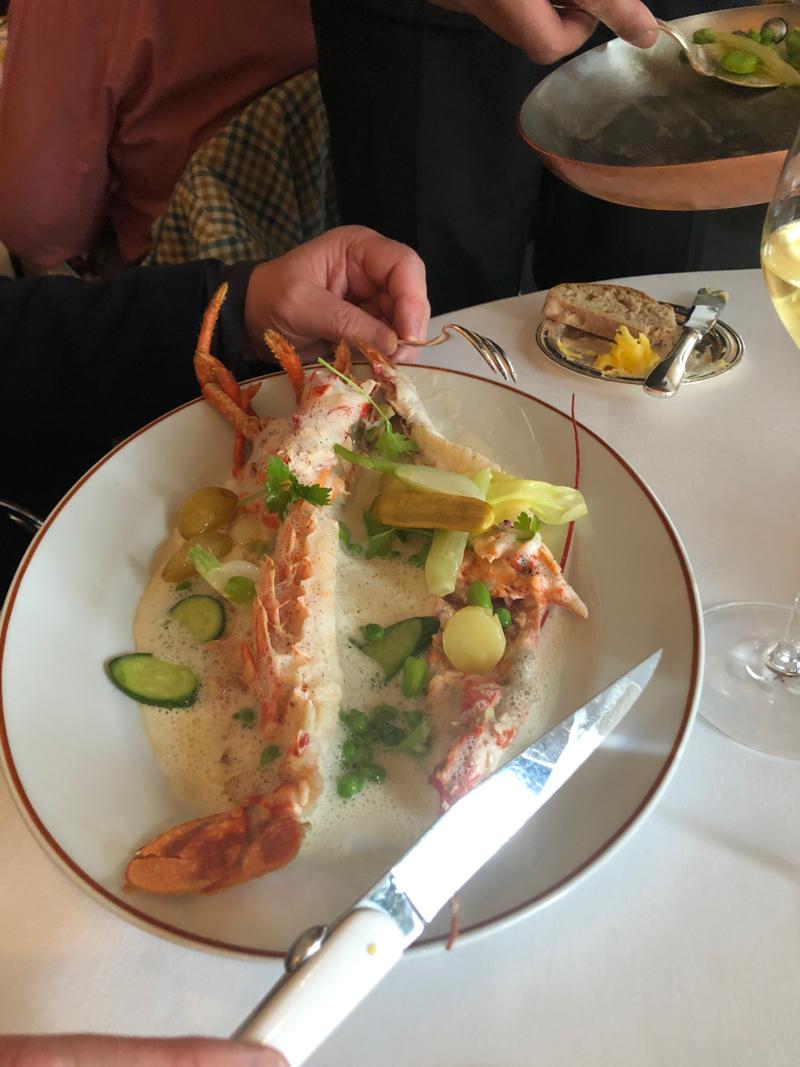 Lobster at l'Arpege