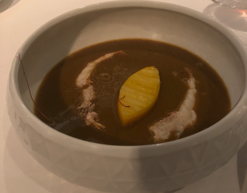 French Bouilleabaisse soup