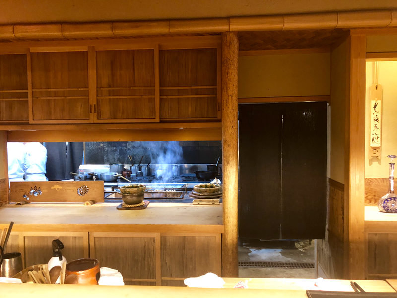 kaiseki restaurant in Kyoto