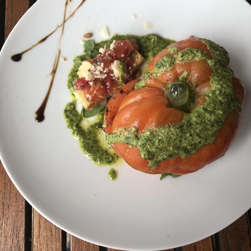 burrata et tomates