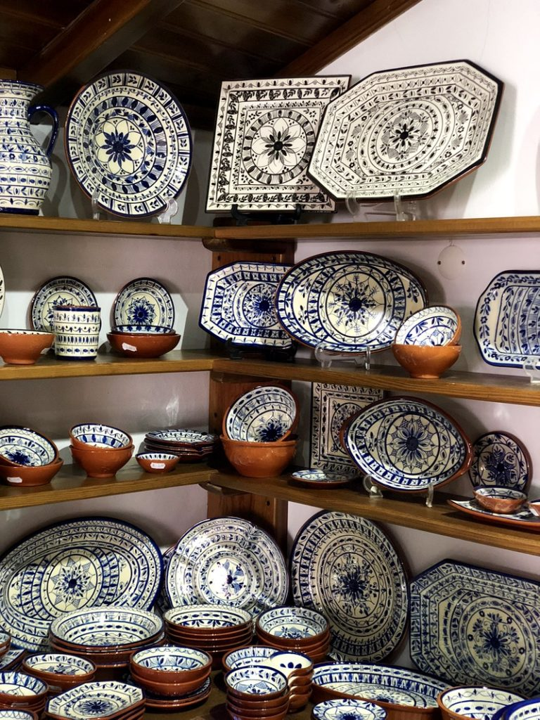 Portuguese craft shop Monsaraz