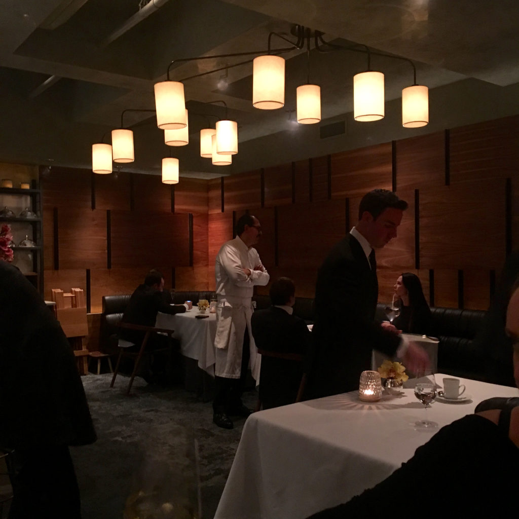 three Michelin star NYC
