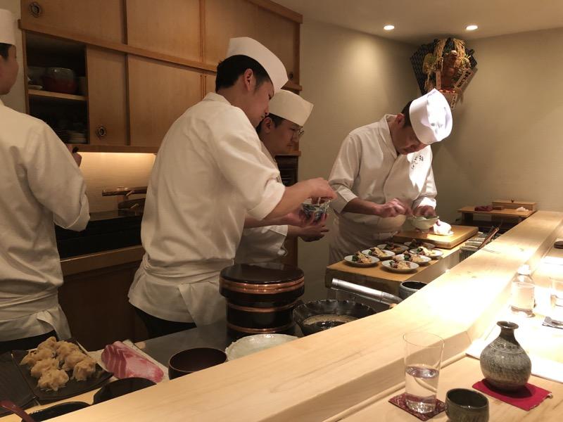 three Michelin star Tokyo