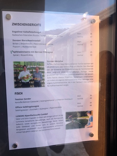 Swiss sustainable food