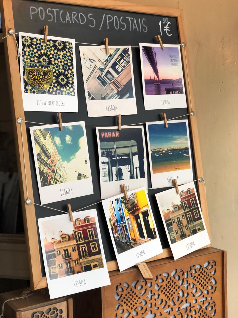 polaroid postcards