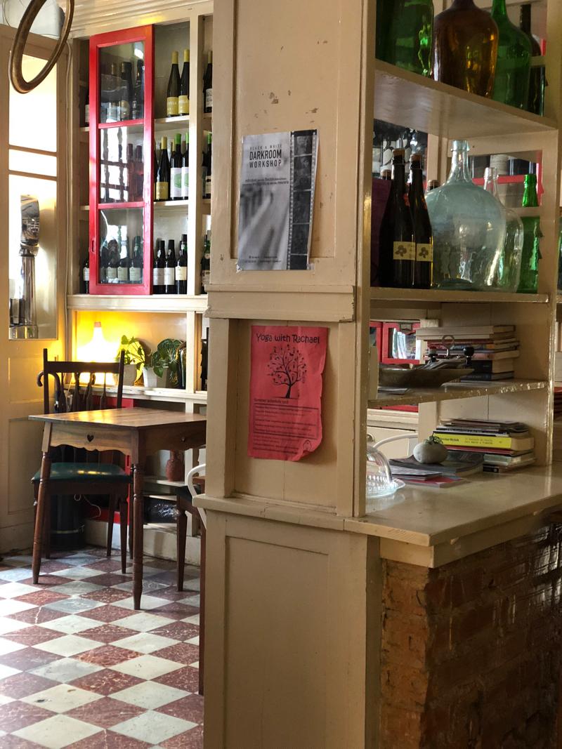 wine bar in Lisbon