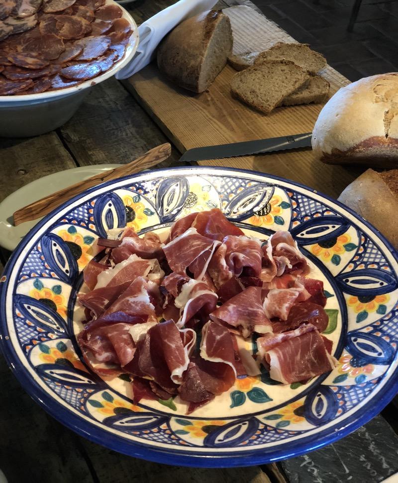 Portuguese ham