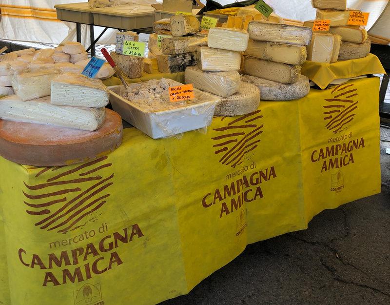 Italian mountain cheese
