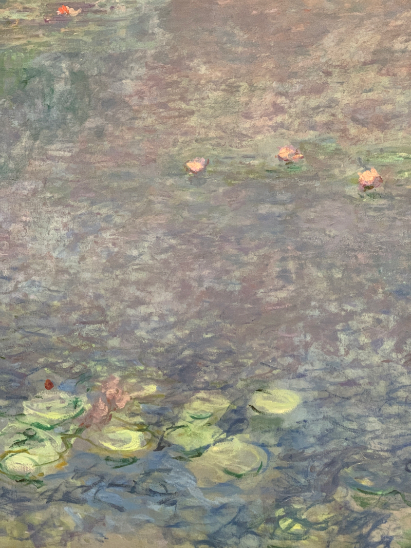 Monet lillies