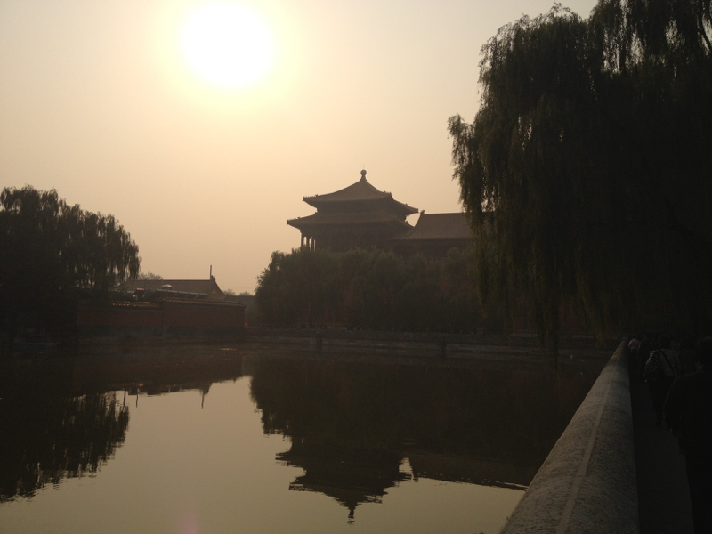 Forbidden City sunset
