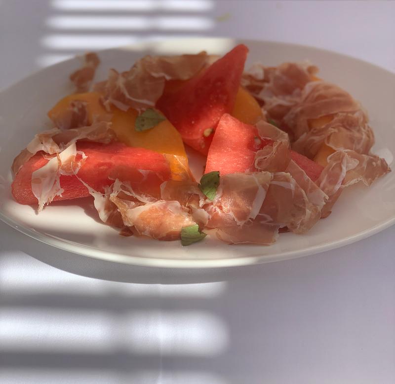 St Tropez dining