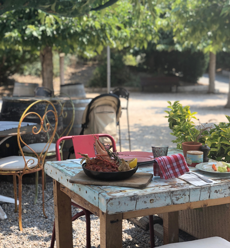 mediterranean style at at Le Cabanon