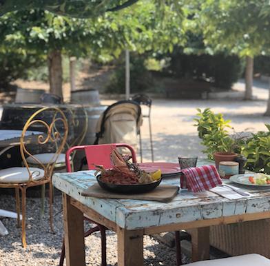 Le Cabanon: bohemian beach dining near Monaco