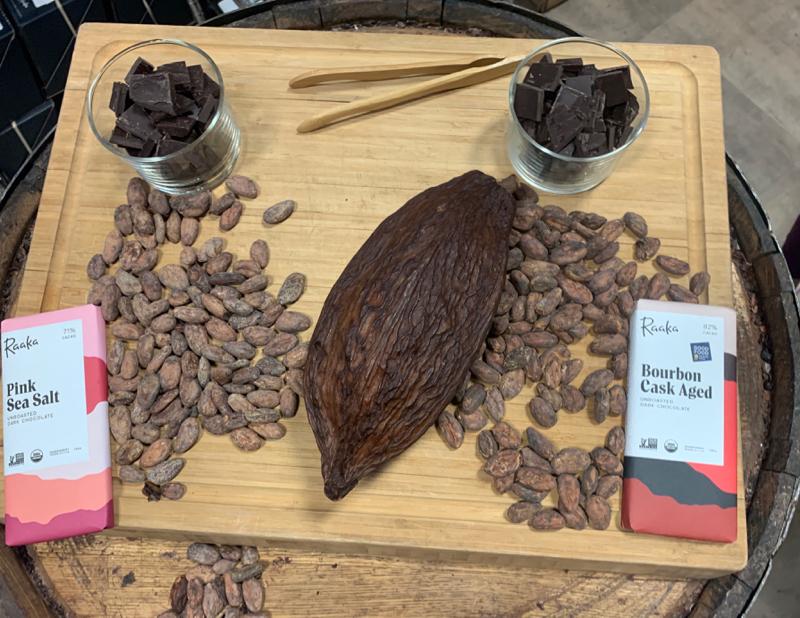 Raaka unroasted cocoa