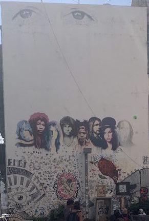 Kis-Lev. street art in Tel Aviv
