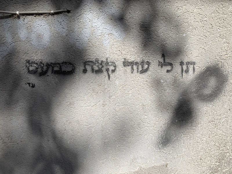 grafitti in Israel